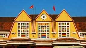 越南旅行的历史目的地 免版税库存照片