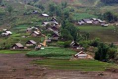 越南村庄 免版税库存图片