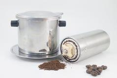 越南样式咖啡 库存照片