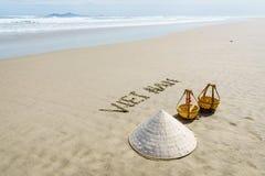 越南海滩 免版税库存图片