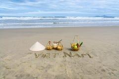 越南海滩 免版税图库摄影