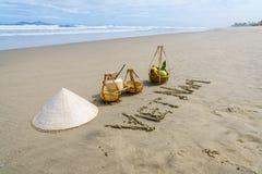 越南海滩 库存图片