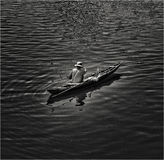 越南渔夫 库存图片