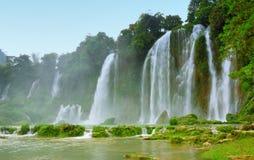 越南瀑布 库存图片