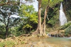 越南瀑布 免版税图库摄影