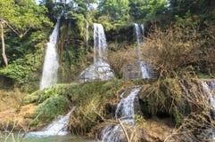 越南瀑布 免版税库存图片