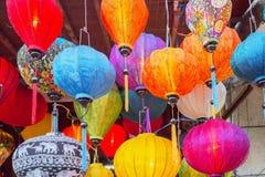 越南灯笼商店 库存图片