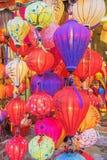 越南灯笼,会安市老镇,越南 库存图片