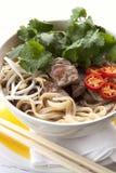 越南牛肉Pho 免版税库存图片