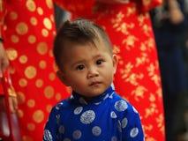 越南男孩 免版税库存照片