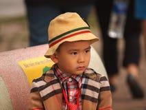 越南男孩 库存照片