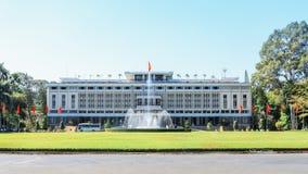 越南的独立宫殿 库存照片