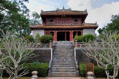 越南的皇家坟茔 免版税库存图片