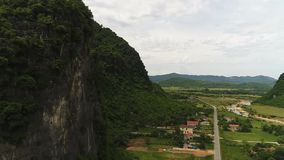 越南的航测 影视素材