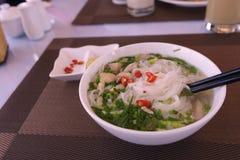 越南米线 免版税库存照片