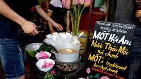 越南街道食物文化 库存图片