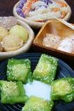 越南街道食物,甜蛋糕 免版税库存图片