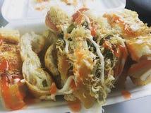 越南街道食物 免版税库存照片