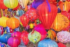越南语的灯笼 免版税库存图片