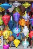 越南语的灯笼 库存照片