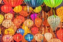 越南语的灯笼 库存图片
