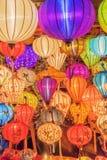 越南语的灯笼 图库摄影