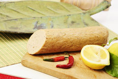 越南语食物的面条 免版税库存图片