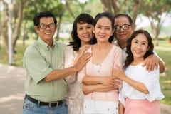 越南语年迈的人民 库存照片