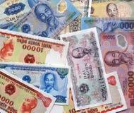 越南货币单位 免版税库存图片