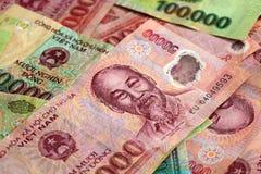 越南金钱 库存照片