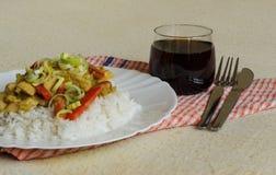 越南食物视图 免版税图库摄影