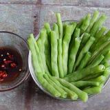 越南食物,煮熟的米,煎蛋卷,情人节 免版税库存照片