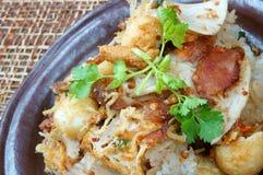 越南食物,美味xoi 免版税库存照片