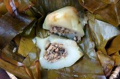 越南食物,金字塔米饺子 免版税库存图片