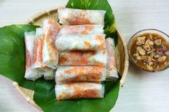 越南食物, bo bia 库存图片