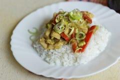 越南食物细节 免版税库存图片