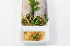 越南食物 免版税库存照片