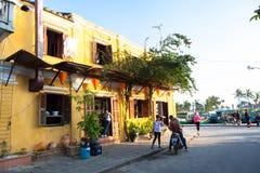 越南,会安市古镇 库存图片