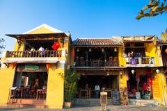 越南,会安市古镇 库存照片