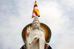 越南,戴Bai,北宁省,权国上午雕象 库存图片