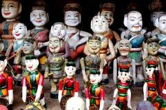 越南水木偶 库存照片