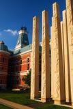 越战纪念碑,哥伦布,  免版税图库摄影