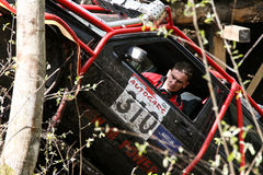 越野卡车冠军, Aluksne,拉脱维亚, 2008年5月10日 免版税图库摄影