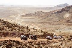 越野沙漠 免版税库存照片