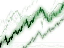 趋向的价格  免版税库存照片