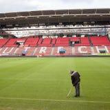 足球俱乐部乌德勒支足球会体育场在荷兰 免版税库存图片