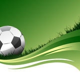 足球向量 免版税库存图片