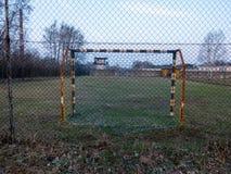 足球地面 库存照片