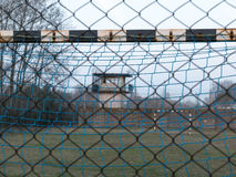 足球地面 免版税图库摄影