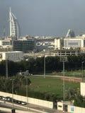 足球场在迪拜 库存图片